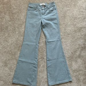 Anthropologie Pilcro Lightwash Flare Jeans